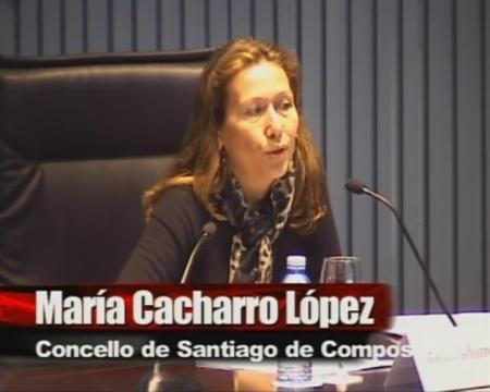 María Cacharro López. Xefe do servizo de Licenzas do Concello de Santiago de Compostela - Xornada sobre a Directiva de Servizos e a Administración Local